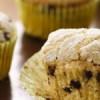 Chokolade muffins med banan
