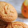 Hvidchokolade muffins med appelsin