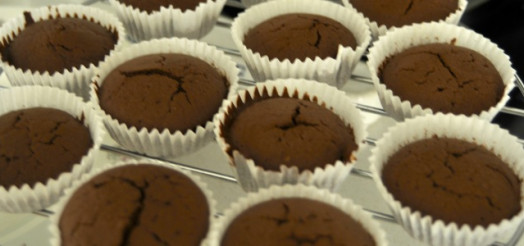 Chokolade muffins med After Eight