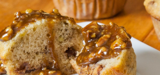 Snickers muffins