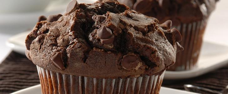 Post image for Chokolade muffins med chokoladeknapper