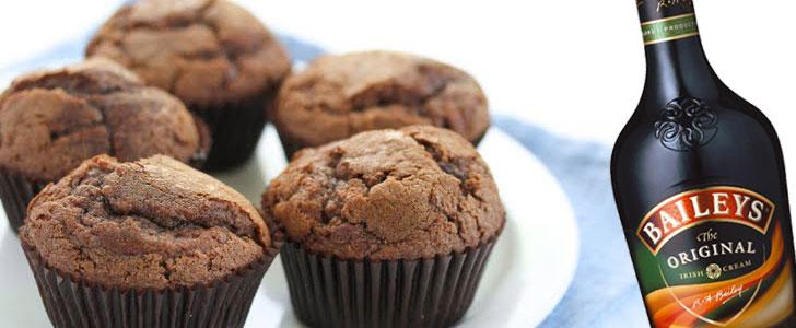 Post image for Chokolade muffins med Bailey
