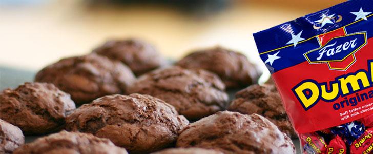 Post image for Chokolade muffins med Dumle
