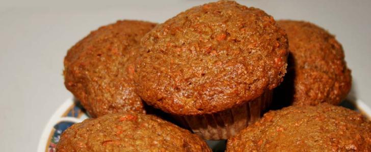 Post image for Gulerodsmuffins